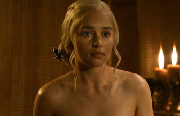 Daenerys Bath Scene