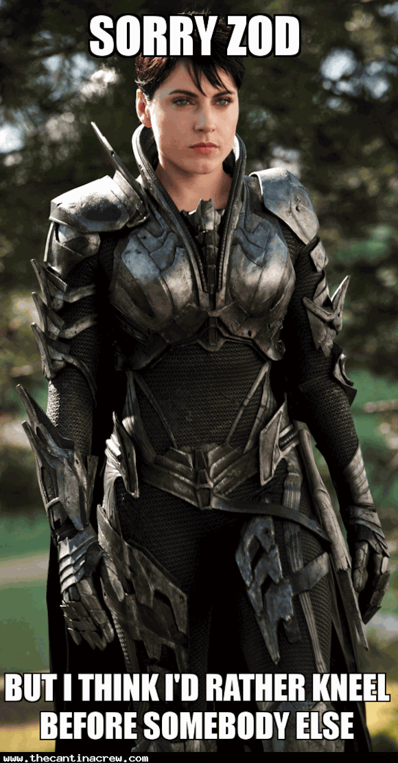 faora-ul, man of steel, kneel before zod, meme